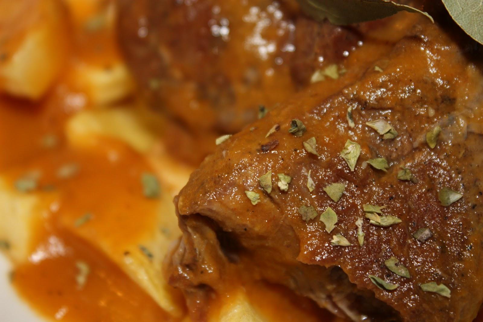 Cocinar Carrillada En Salsa   El Bodegon De La Gula Estofado De Carrillada Con Salsa De Zanahoria