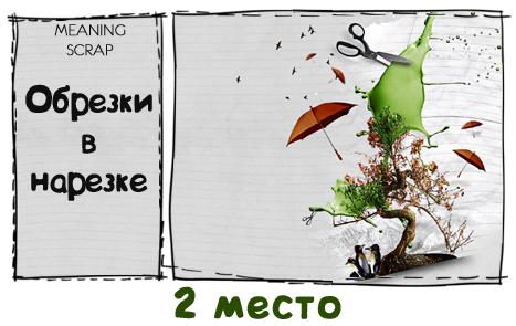 """2 место СП """"Обрезки в нарезке"""""""