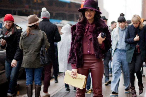 new york fashion week, new york street style, 2013, womens street style winter fashion