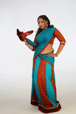 Samvritha sunil latest hot photos in indian half saree
