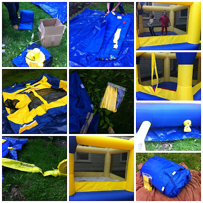 BlastZonecollage1 The Heat is ON! #Win a Bounce Castle!