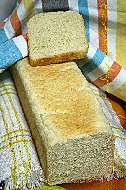 pan de leche de almendra,pan de molde inglés, Dan Lepard