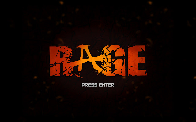 Rage title screen