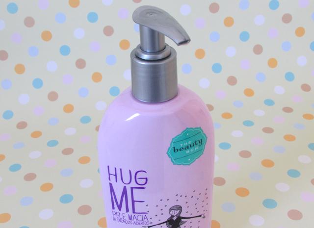 Resenha, Loção, Hidratante, Hug Me, The Beauty Box