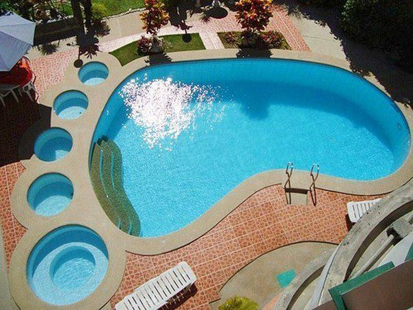 Ideas And Decor Creative Swimming Pool Shapes