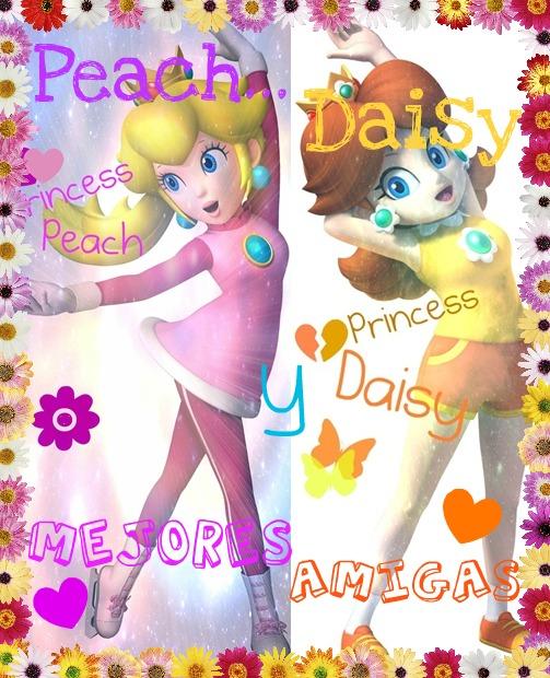 peach y daisy mejores amigas!!
