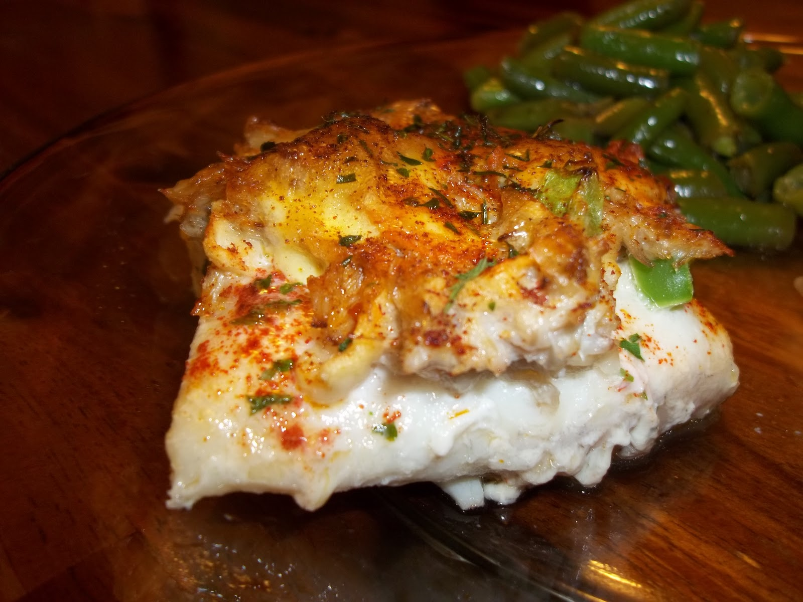 TastyTalkWithAmy: Crab Stuffed Flounder (Easy)