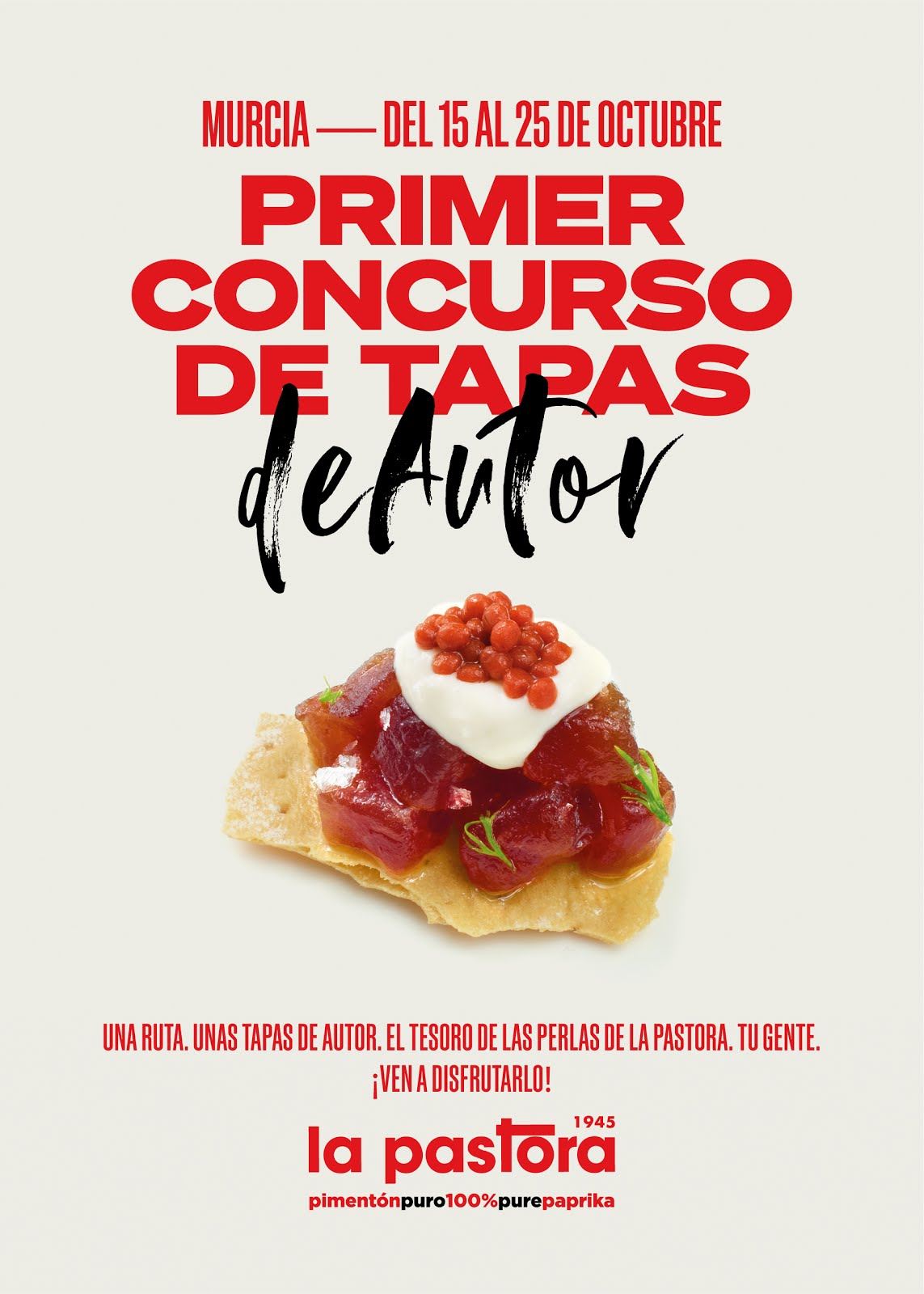 I Concurso de Tapas de Autor de Murcia La Pastora