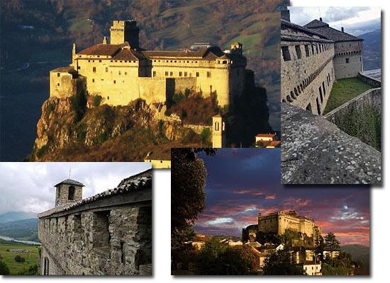 Lugares Assombrados - Castelo de Bardi - Itália