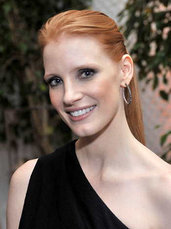 jessica chastain. Jessica Chastain, a promising