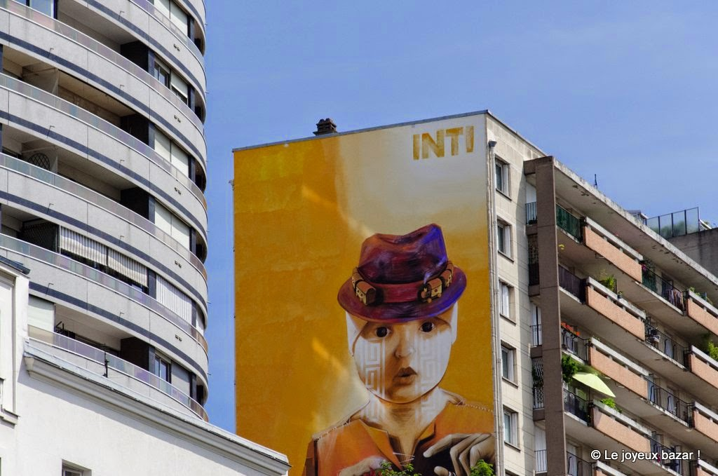 Paris 13 - boulevard d'Italie - street art