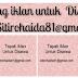 Ruang Tapak Iklan untuk Disewakan di blog Kisahsidairy