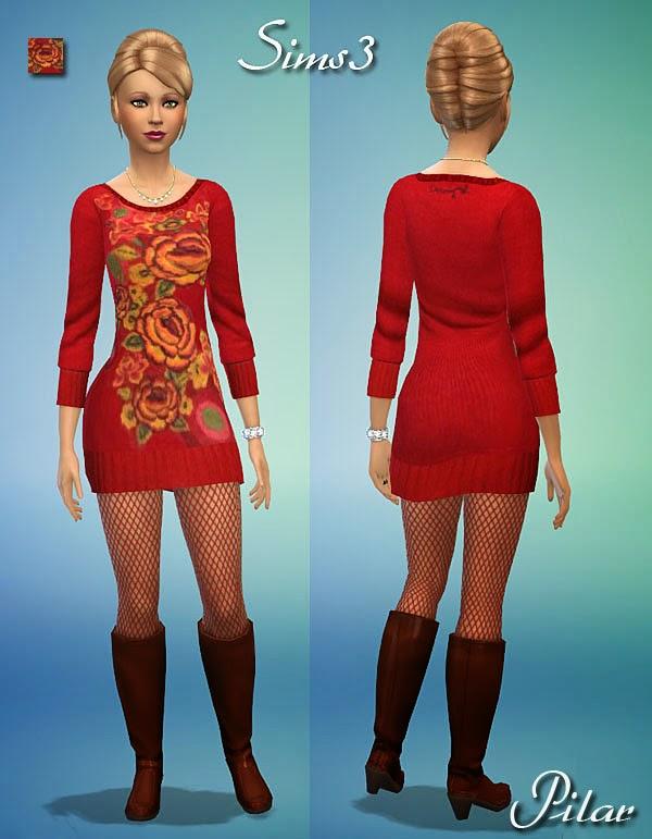 04-09-2014 Vestido Desigual Mariona
