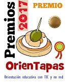 PRIMER PREMIO EN LA CATEGORÍA DE BLOGS DE ORIENTACIÓN EDUCATIVA