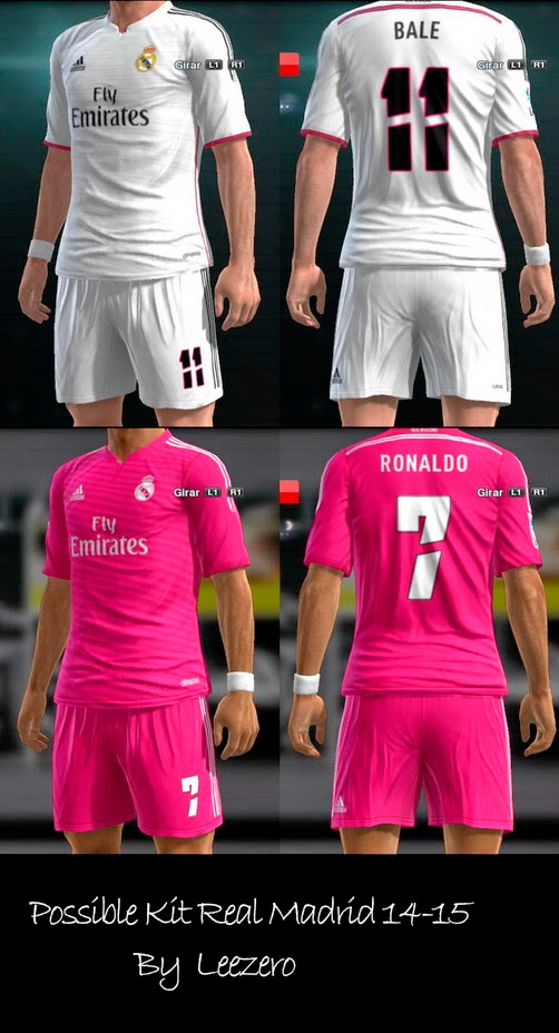 PES 2013 Possible Kit Real Madrid 14-15 by Leezero