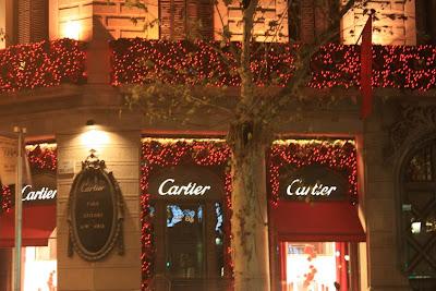 Cartier in El Passeig de Gràcia