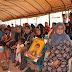 Amûdê'de yüzlerce kişi taziye çadırını ziyaret etti