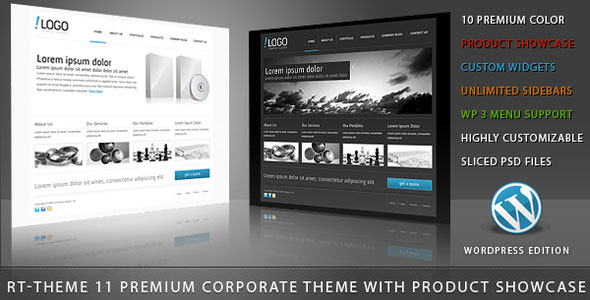 Image for RT-Theme 11 / Business Theme 10 in 1 by ThemeForest