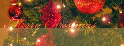 Image de couverture facebook Merry Christmas