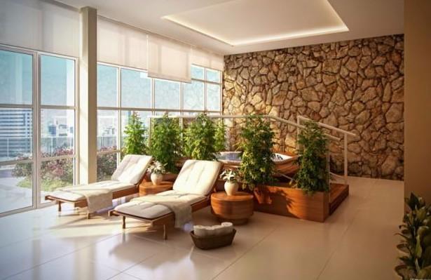 Meu Palácio de 64m² Revestimentos para Varanda ~ Tipo De Revestimento Para Quarto