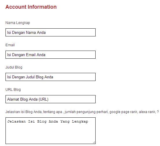 Cara Daftar IdBlogNetwork