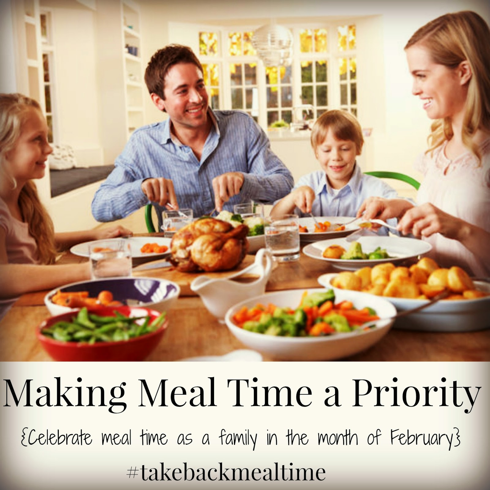 February's Challenge #takebackmealtime