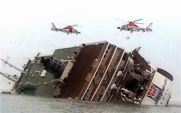 Total Count of Dead Members of South Korea Ferry Sinking