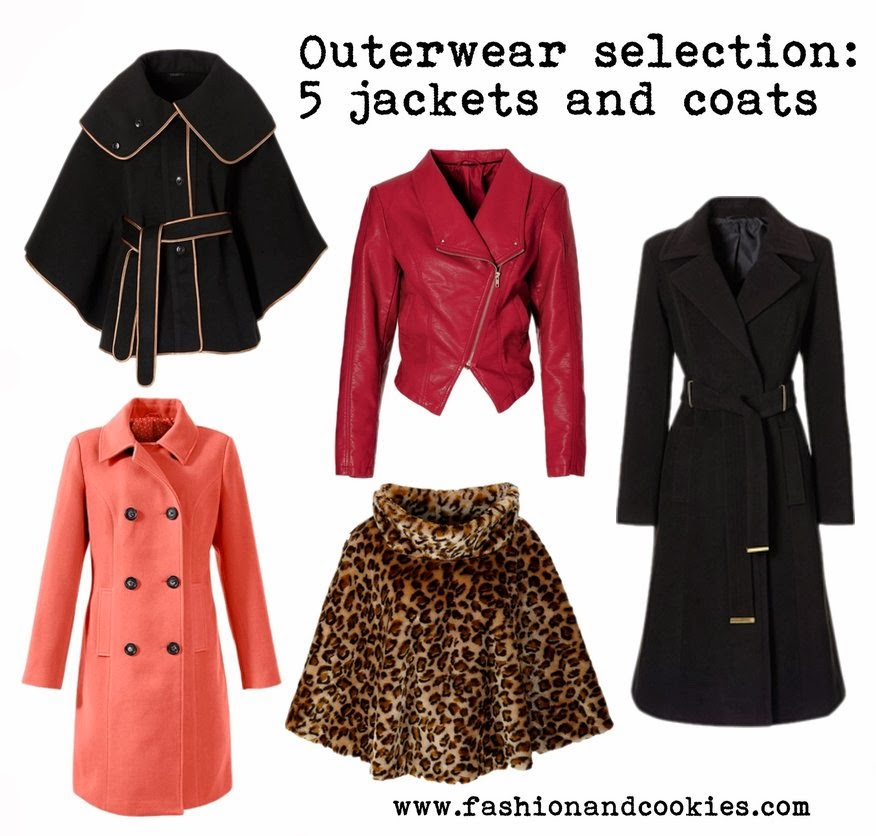 jackets and coats selection on Fashion and Cookies