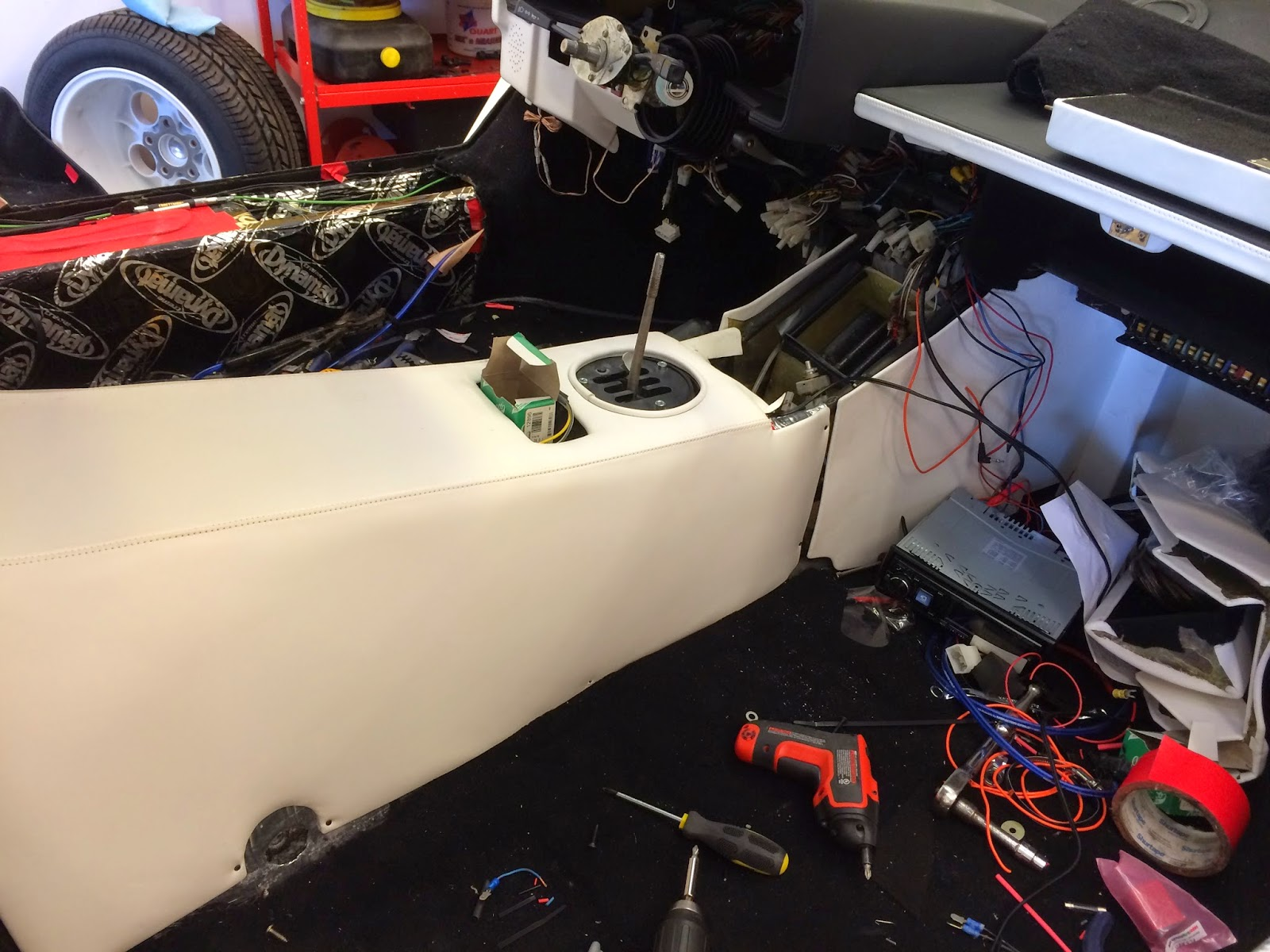 Installing the Countach Interior – Lamborghini Countach Wiring Diagram