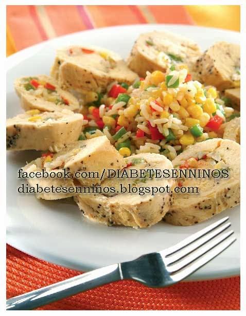 ¿cómo preparar unos rollitos rellenos de arroz para diabéticos?