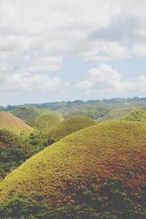 photo of chocalate hills- bohol, philippines