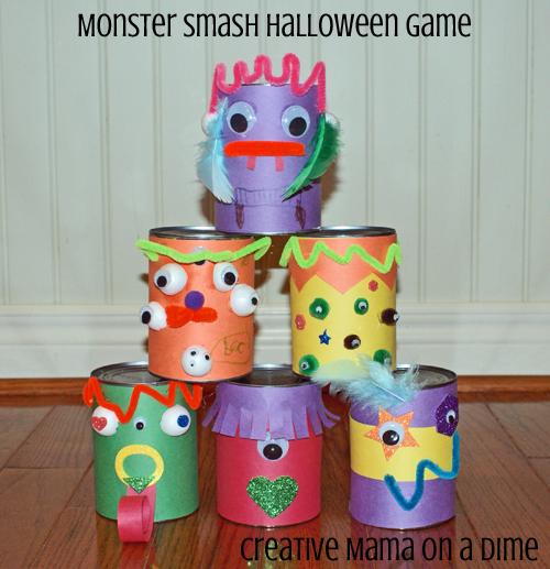 monster smash games