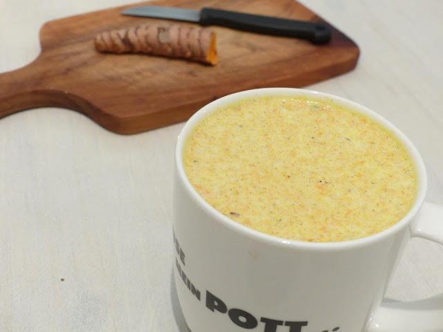 Goldene Milch Rezept Kurkuma Winter heiß Immunsystem stärken warm