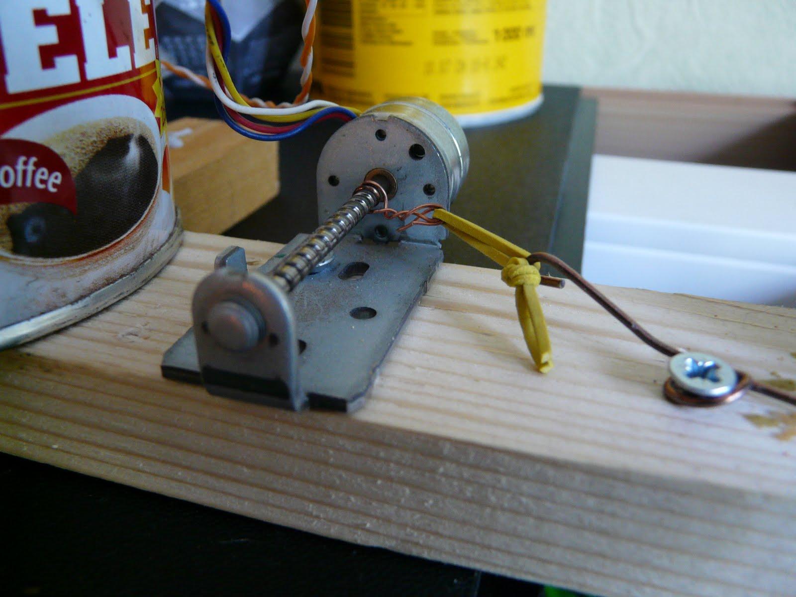 Самодельный ветрогенератор на основе шагового двигателя 73