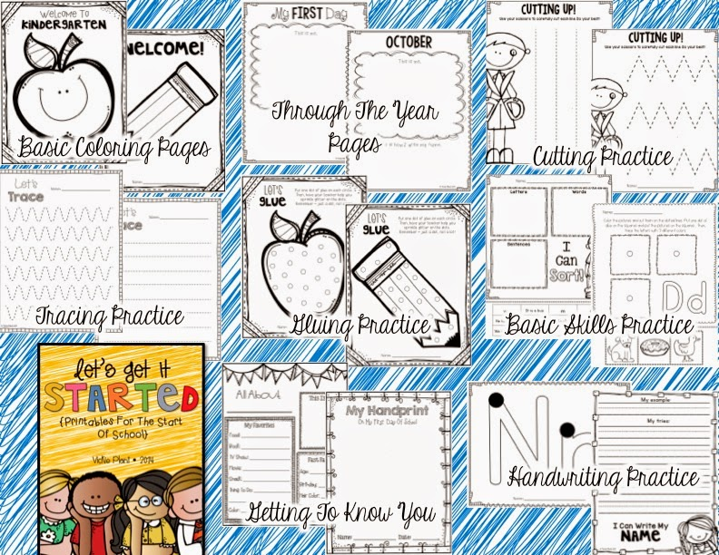 http://www.teacherspayteachers.com/Product/Lets-Get-It-Started-Printables-for-the-Beginning-of-the-Year-1306580