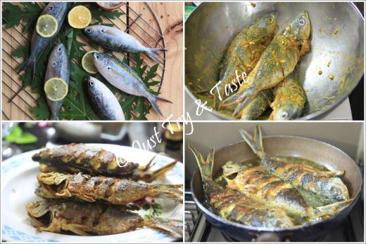 Ikan pisang-pisang siram saus bunga kecombrang