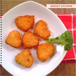 Resep Nugget Sayur Keju
