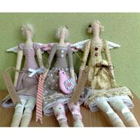 Вязание, Кардмейкинг, Куклы, Разные виды рукоделия, Тильда
