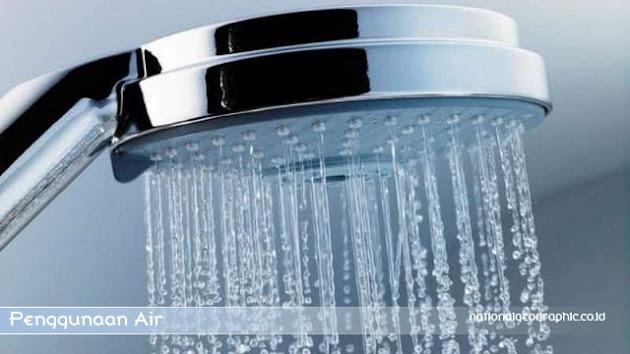 efisiensi penggunaan air bersih