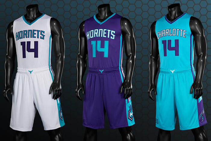 NBA 2K14 Official Charlotte Hornets Jerseys