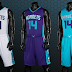 NBA 2K14 Official Charlotte Hornets Uniforms