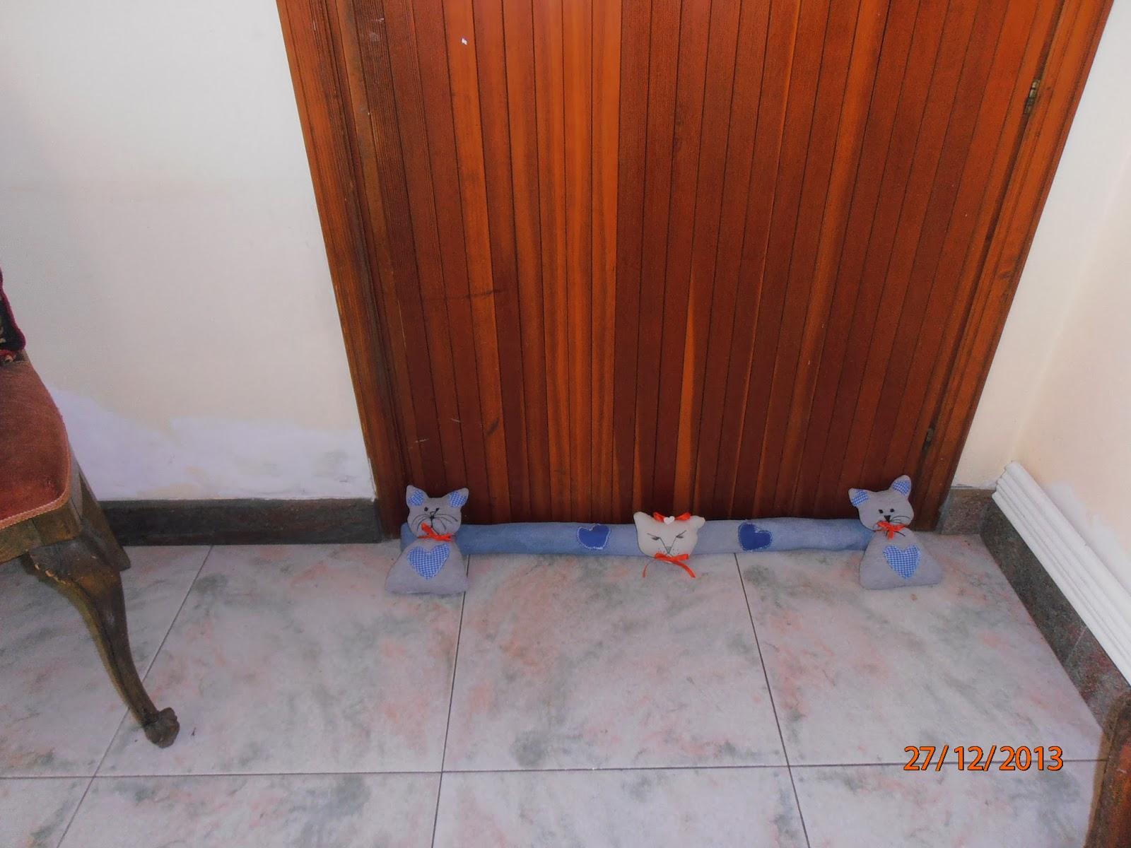 Idee Creative Cucito : Il giardino delle idee creative paraspifferi con gattini cucito