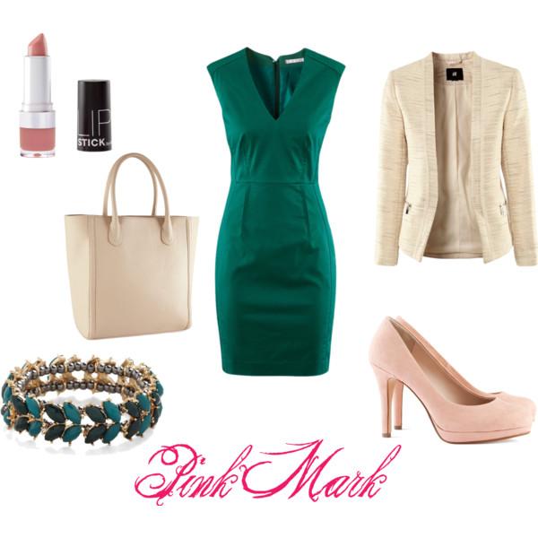 Vestito verde abbinamenti