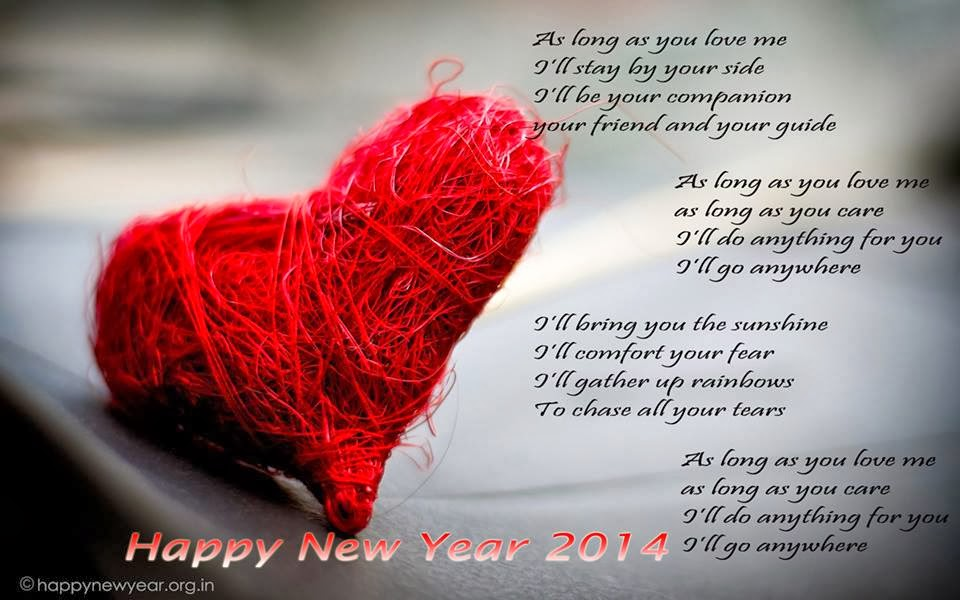 Happy new year love quotes like success for Love quotes for card