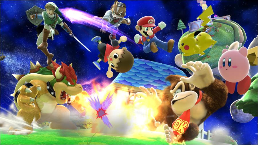 Super Smash Bros. Wii U vai ter modo para 8 jogadores