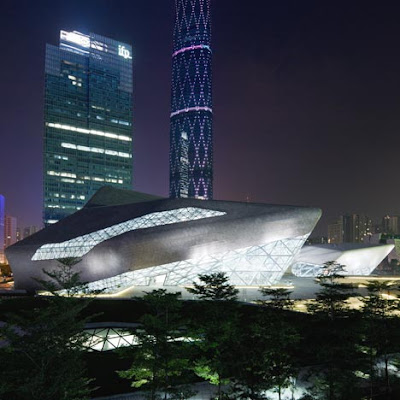 Hadid's Guangzhou Opera House!