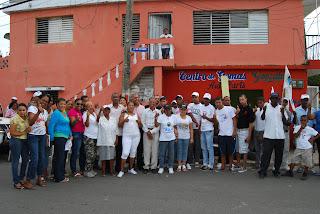 PRD desarrolla un mano a mano en Los Mina
