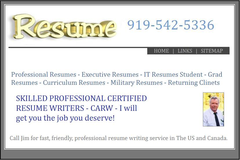 resume writing websites
