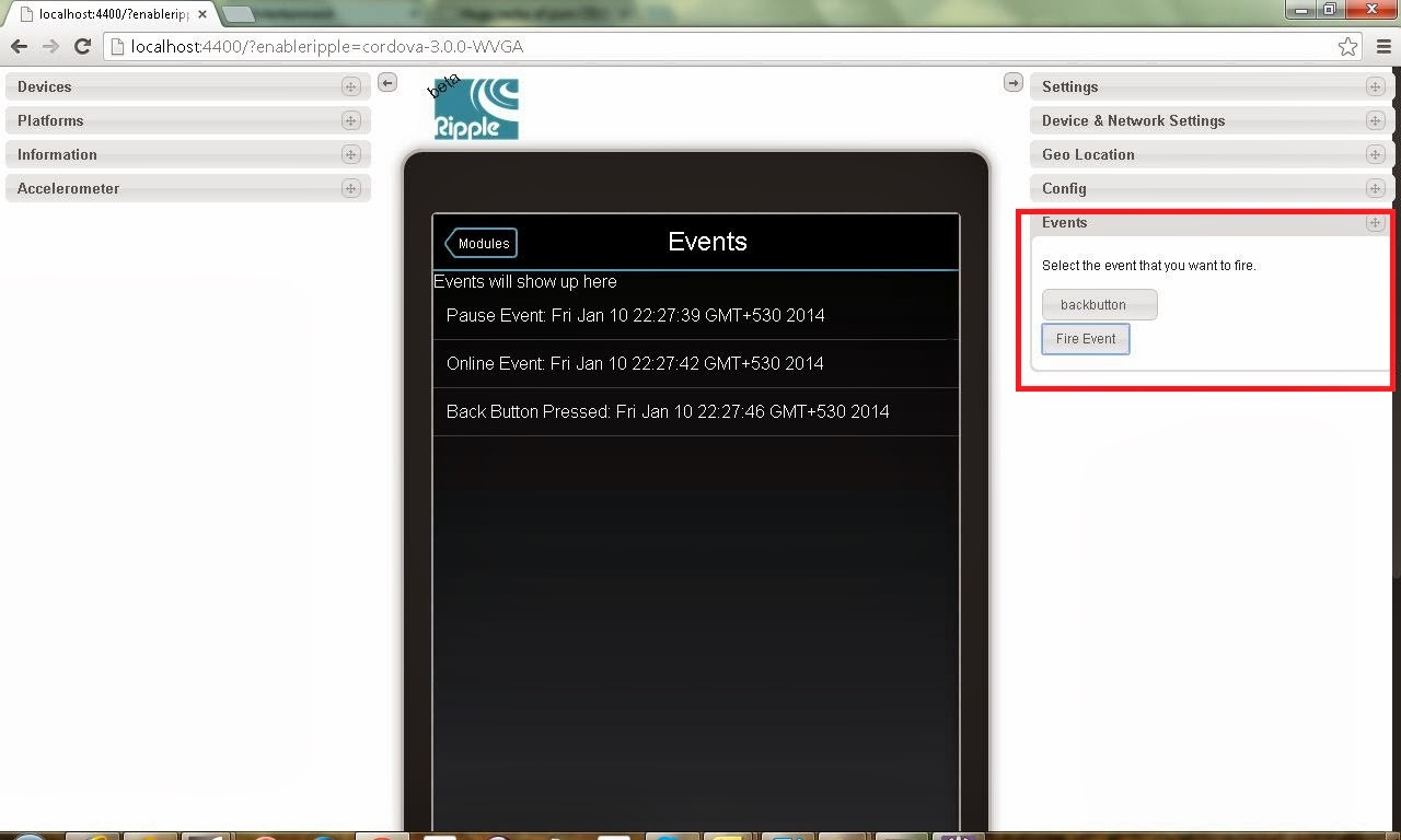 how to find an application using your camera