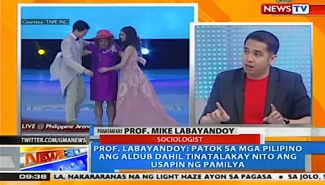 Howie Sevirino interview, Professor Mike Labayandoy about ALDUB lasting power